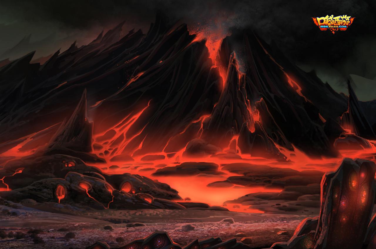 地狱之花手绘图