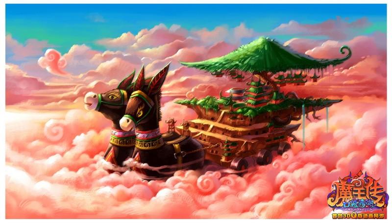 …这个笼罩在神话光辉之下的天空之城,合乎你对天空幻想的所有图片
